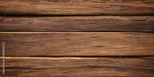 Photo dark wood background, natural texture of rustic boards