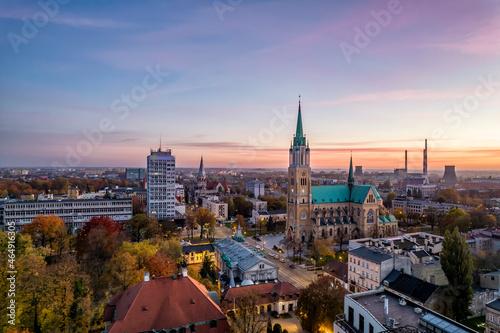 Foto Łódź, Polska- Bazylika archikatedralna.